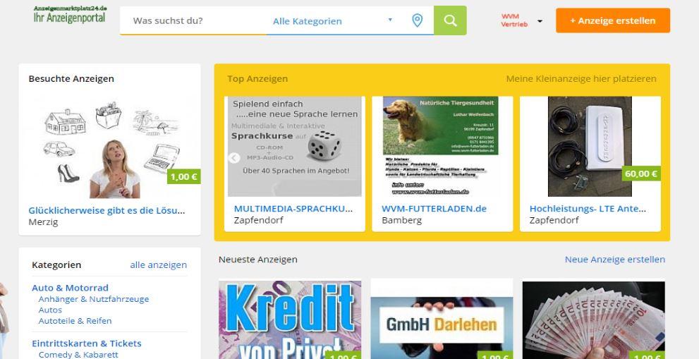 Screenshot https://anzeigenmarktplatz24.de