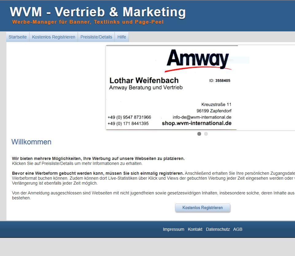 Screenshot https://info-webportal.de/adsman